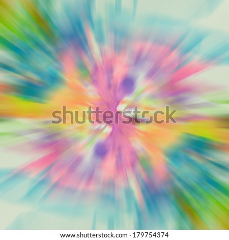 colorful blur abstract frame background like sunray