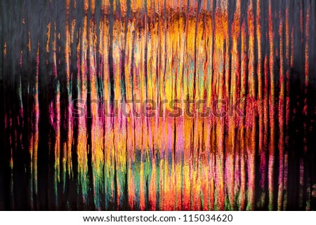Colorful blur stained glass abstract background - stock photo