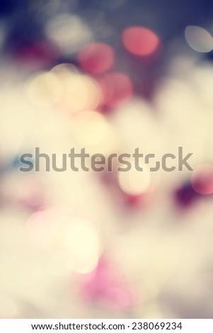 Colorful bokeh - stock photo