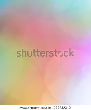 Colorful bokeh abstract background of de-focused lights - stock photo