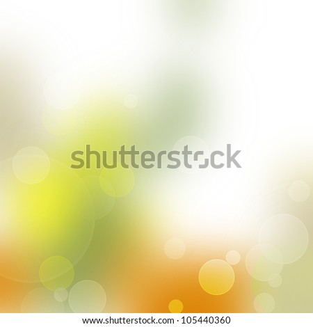 Colorful bokeh abstract light background - stock photo