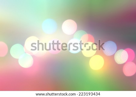 Colorful bokeh. Different colors Bokeh, abstract light, background. Colorful christmas background. Holidays background. Lights. Colourful lights. Bokeh. New year lights.Festive background. Celebration - stock photo