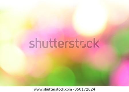 Colorful bokeh of Christmas and New year celebration abstract background - stock photo