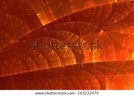 Colorful bright orange-red background with golden flashes . It contains abstract pattern.