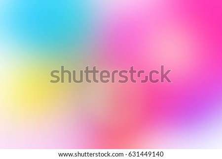Colorful Bright Pastel Tone Background In Pink Yellow Purple And Soft Blue Color Abstract