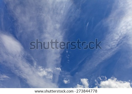 colorful bright sky blue background - stock photo
