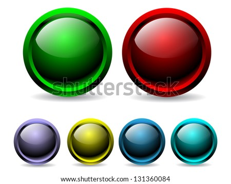 Colorful buttons
