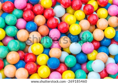 Colorful candies. - stock photo