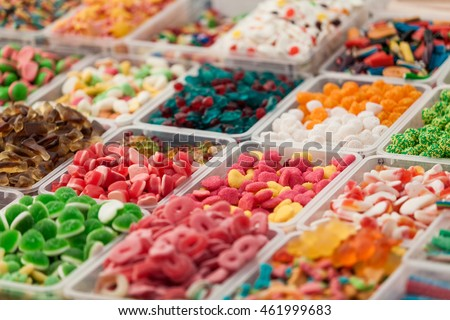 colorful candies  background. colorful fruit bonbon. jelly candies