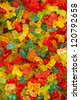 Colorful candies bear - stock photo