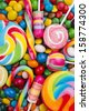 colorful candy - stock