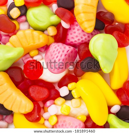 Colorful candy backgrounds - stock photo