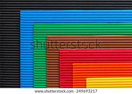 colorful cardboard texture