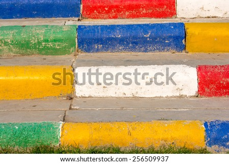 Colorful cement or concrete background