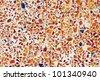colorful ceramic pattern background - stock photo