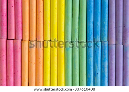 colorful chalk background pattern - stock photo