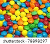 colorful chewy dragees background - stock photo