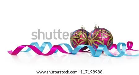 colorful christmas decoration - stock photo
