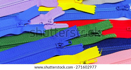 Colorful collection of lightning. Elements of needlework. Background for design of clothing.