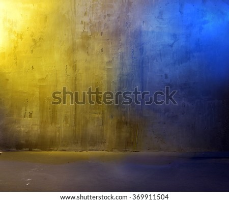 Colorful concrete background - stock photo