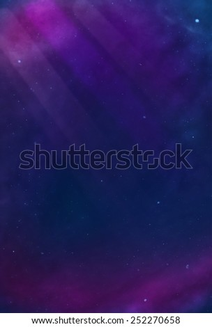 Colorful Cosmos - Purple - stock photo