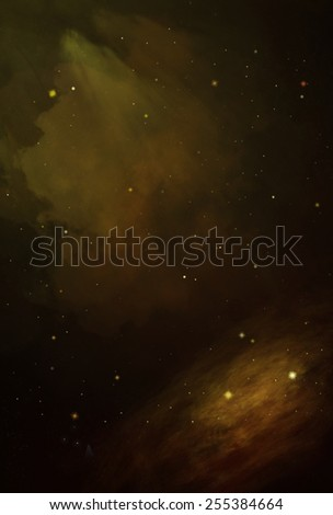 Colorful Cosmos - Yellow - stock photo