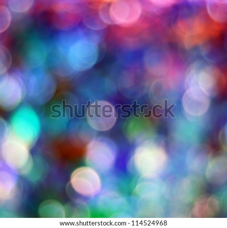 Colorful defocused lights useful as a background or texture - stock photo
