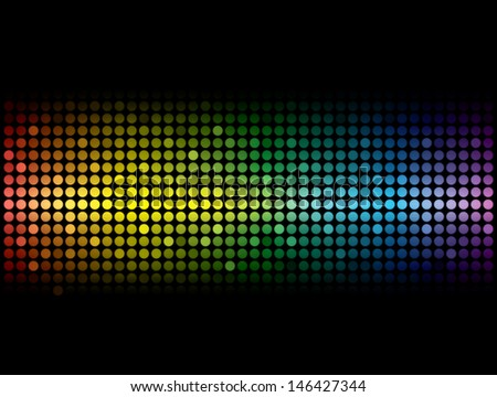 Colorful dots pattern.