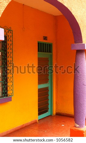 Colorful Entry - stock photo