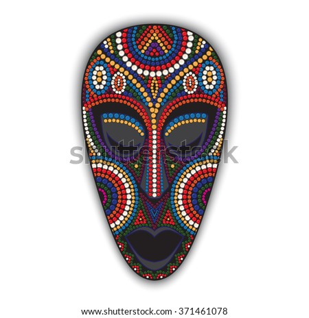 Tribal Mask Stock Images Royalty Free Images Amp Vectors