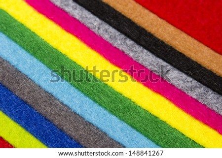 colorful felt background