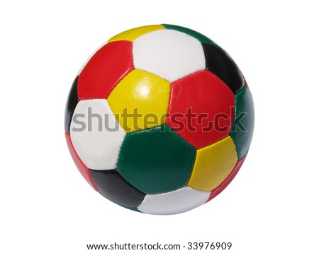 colorful fooball