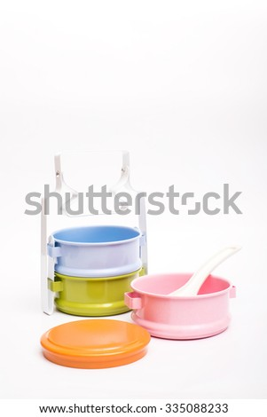 Colorful Food Carriers