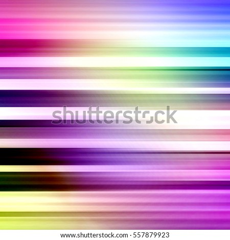 Colorful Futuristic Motion Backdrop - In Shades of Pink Yellow Teal and Blue - High resolution illustration for graphic design or background use.