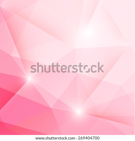 Colorful geometric background  - raster version - stock photo