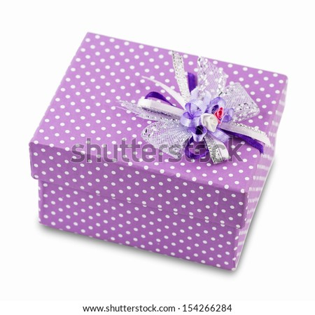 colorful gift boxe over white background - stock photo