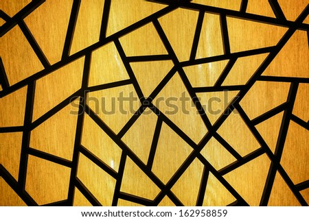 Colorful Glass Mosaic Art Abstract Wall Stock Photo (Download Now ...