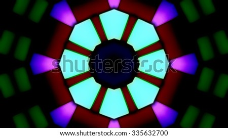 Colorful Glass Party Ligths Background