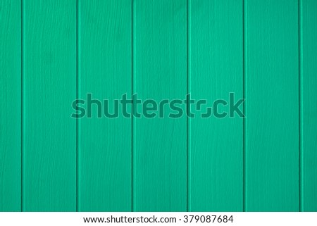 Colorful green wood background. - stock photo