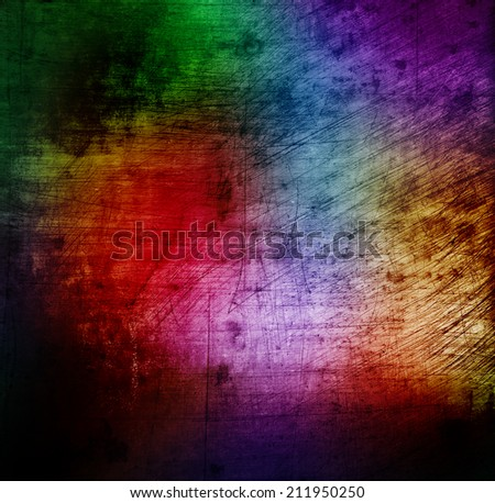 colorful grunge abstract background - stock photo