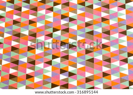 colorful grunge background with triangles and different shapes