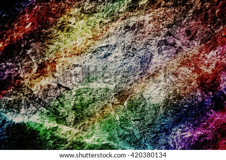 colorful grunge rock background texture