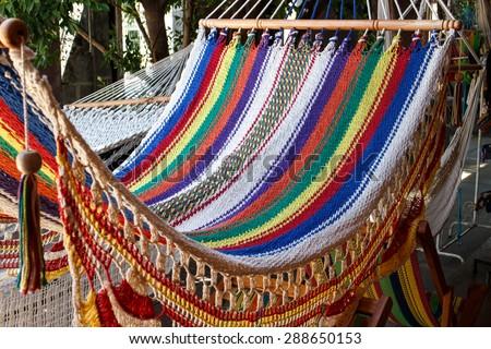 colorful hammock colorful hammock stock photo 288650153   shutterstock  rh   shutterstock