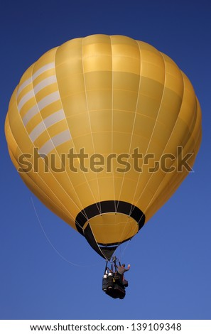 Colorful hot-air balloon in Nyaungshwe, Myanmar