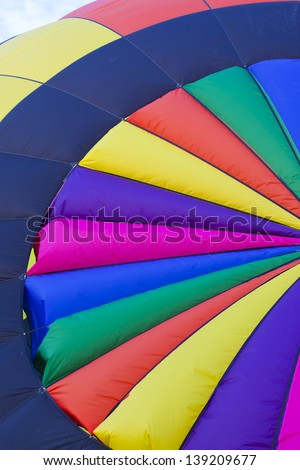 Colorful Hot Air Balloon Pattern