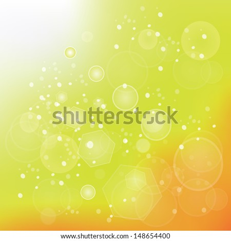 colorful illustration with sun background for your design