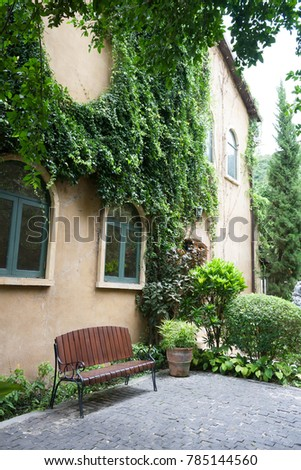 Colorful Italian Style Architecture Stock Photo Royalty Free