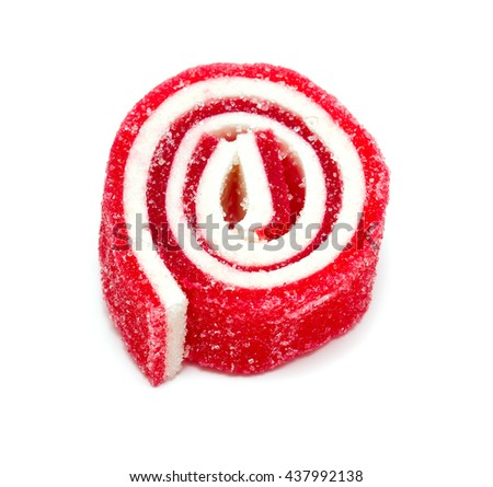 colorful jelly candy - stock photo