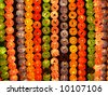 Colorful lanterns on buddha's birthday in Seoul - stock photo