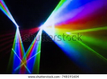 Colorful lights abstract background can be use as new year party background or Christmas celebration background or any celebration event background or screen sever also have copy space for text.